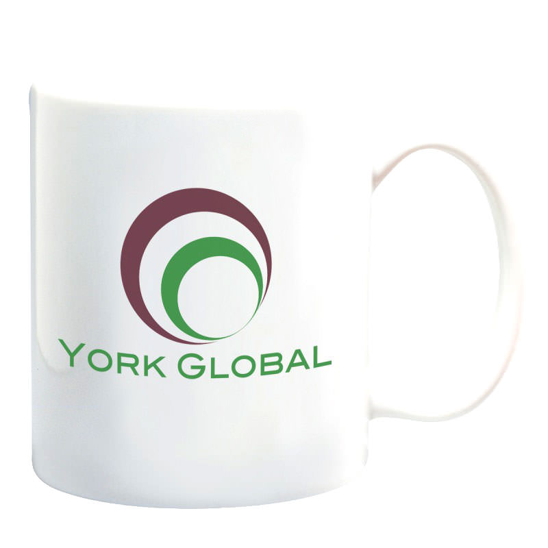 Custom White Ceramic Mug by TJM Promos