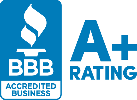 BBB A+ Rated and Accredited Business since 2005