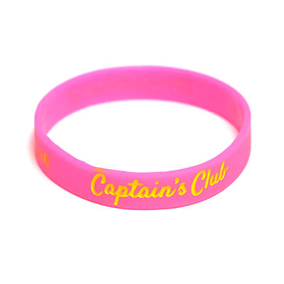 Custom Color Filled Silicone Wristbands by TJM Promos 6