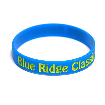 Custom Color Filled Silicone Wristbands by TJM Promos 4