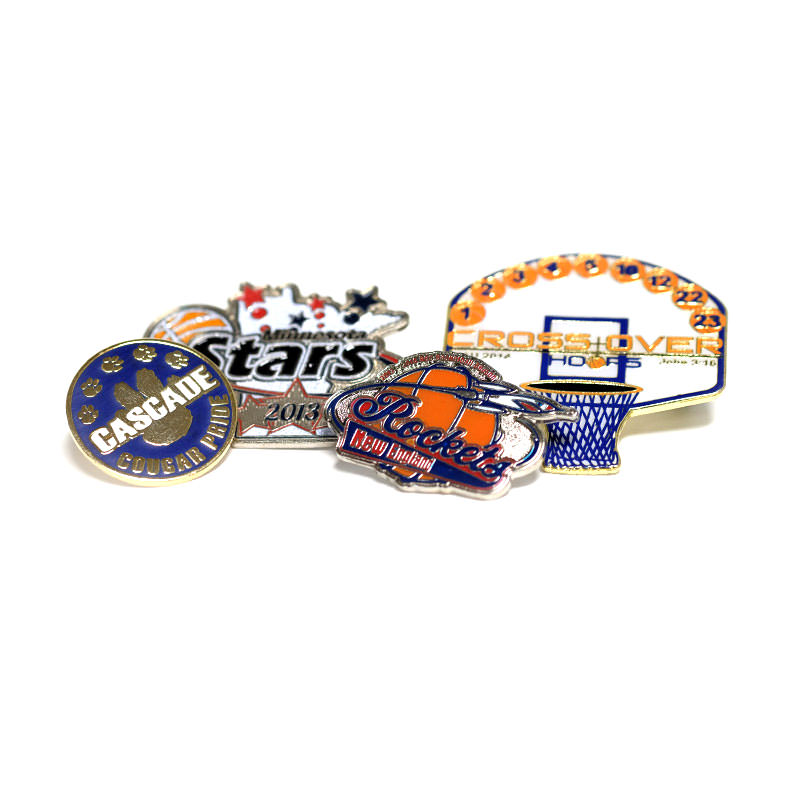 Custom Trading Pins by TJM Promos | Basketball Trading Pins