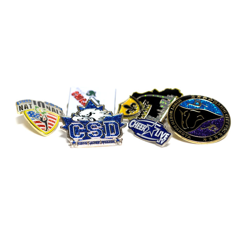 Custom Trading Pins by TJM Promos | Cheerleading Trading Pins
