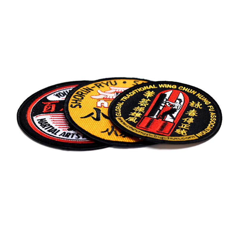 Martial Arts Patches by TJM Promos