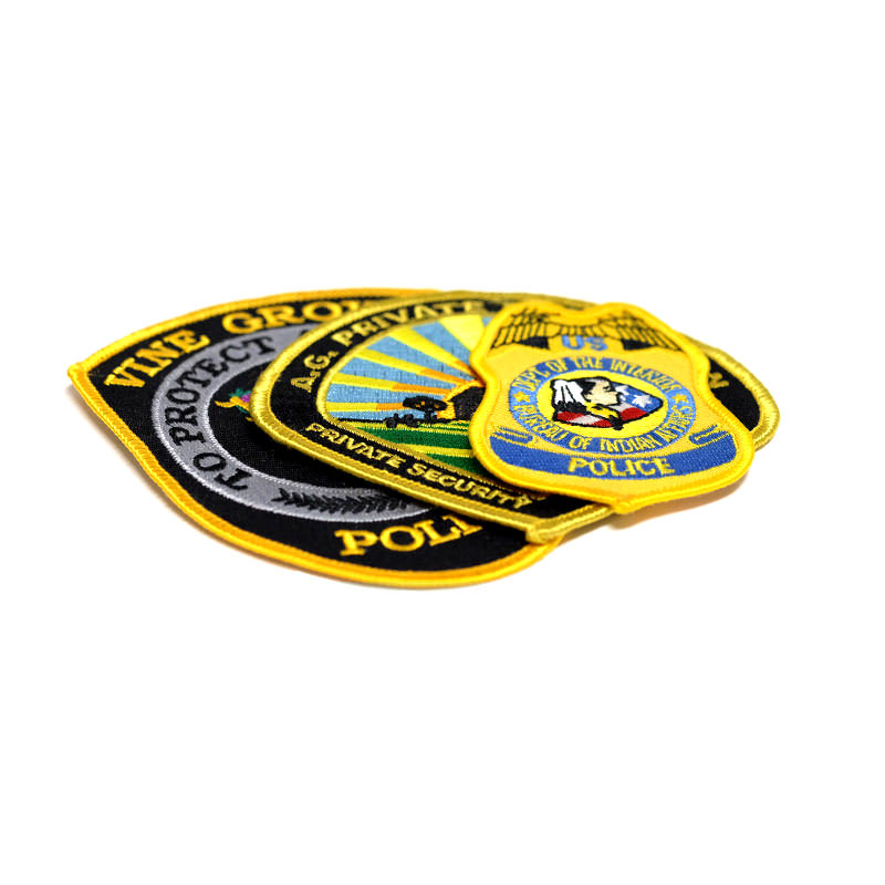 Custom Police Patches by TJM Promos
