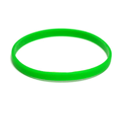 Custom Micro Silicone Wristbands by TJM Promos 3