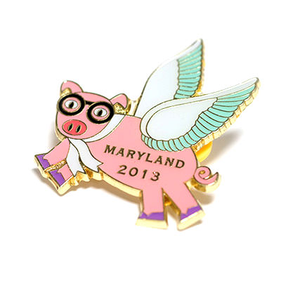 Custom Trading Pins by TJM Promos | Odyssey of the Mind Pins 1