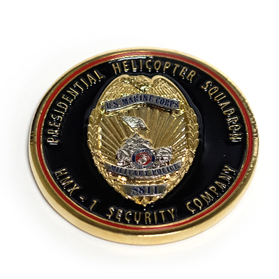 Police Challenge Coins by TJM Promos 2