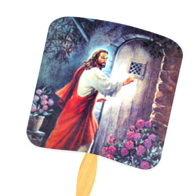 Custom Religious Hand Fans by TJM Promos 6