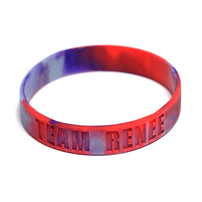 Custom Swirled Wristbands by TJM Promos 5