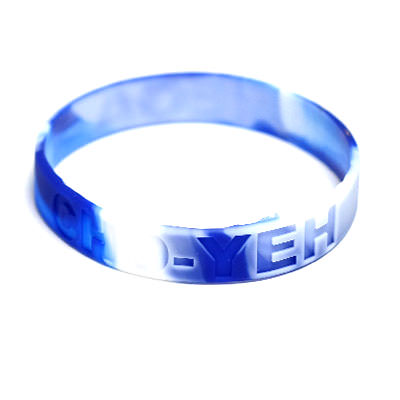 Custom Swirled Wristbands by TJM Promos 3