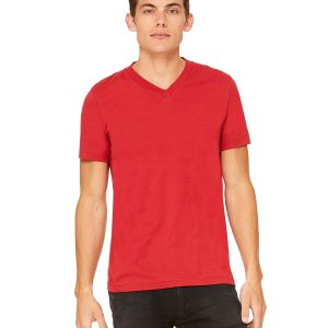 CN ADULT 4.3 OZ RS CTTN V-NECK