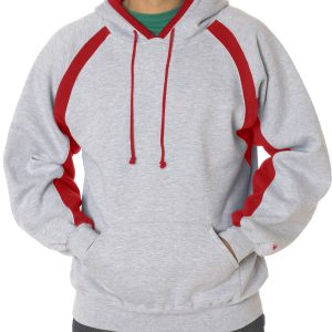 Badger 1262 - Adult Hook Hooded Fleece