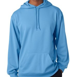 Badger 1454 - Adult Polyester Performance Hooded Fleece