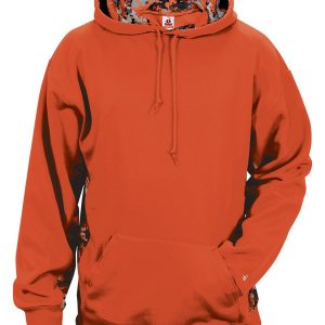 Badger 1464 - Adult Digital Colorblock Hooded Fleece