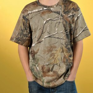 Code Five 2280 - Youth Officially Licensed REALTREE® Camouflage Short Sleeve T-Shirt