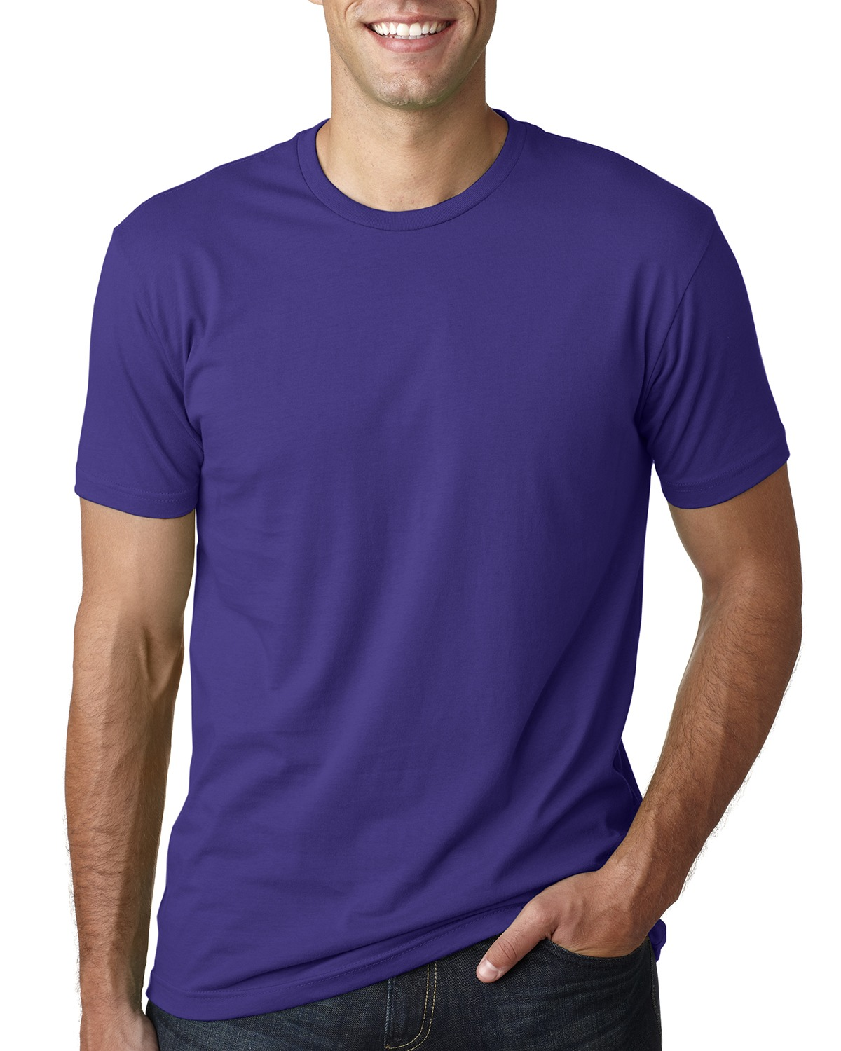 Next Level 3600 – Men's Cotton Crew 1