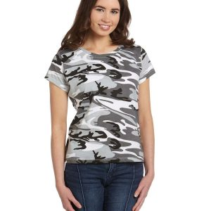 Code Five 3665 - Ladies' Camouflage T-Shirt