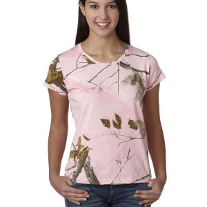 Code Five 3685 - Ladies' REALTREE® Camouflage T-Shirt