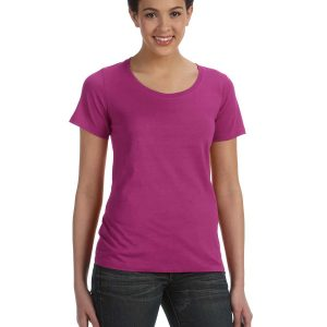 Anvil 391A - Ladies' Ringspun Sheer Featherweight T-Shirt