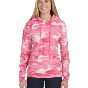 Code Five 3969 - Adult Camo Pullover Fleece Hoodie