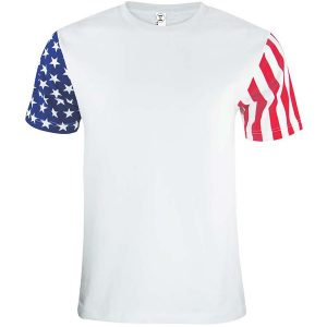 Code Five 3976 - Adult Stars & Stripes T-Shirt