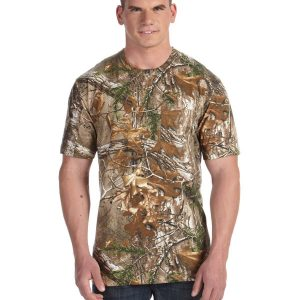Code Five 3982 - Officially Licensed REALTREE® Camouflage Pocket T-Shirt