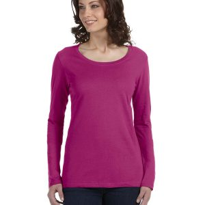 Anvil 399 - Ladies' Ringspun Sheer Long-Sleeve Featherweight T-Shirt
