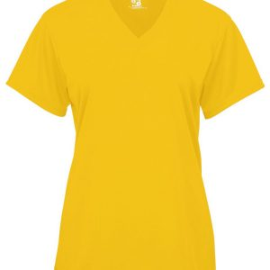 Badger 4162 - Ladies' V-Neck Short-Sleeve Performance T-Shirt