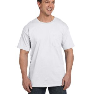 Hanes 5190P - 6.1 oz. Beefy-T® with Pocket