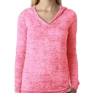 Next Level 6521 - Ladies' Burnout Hoody