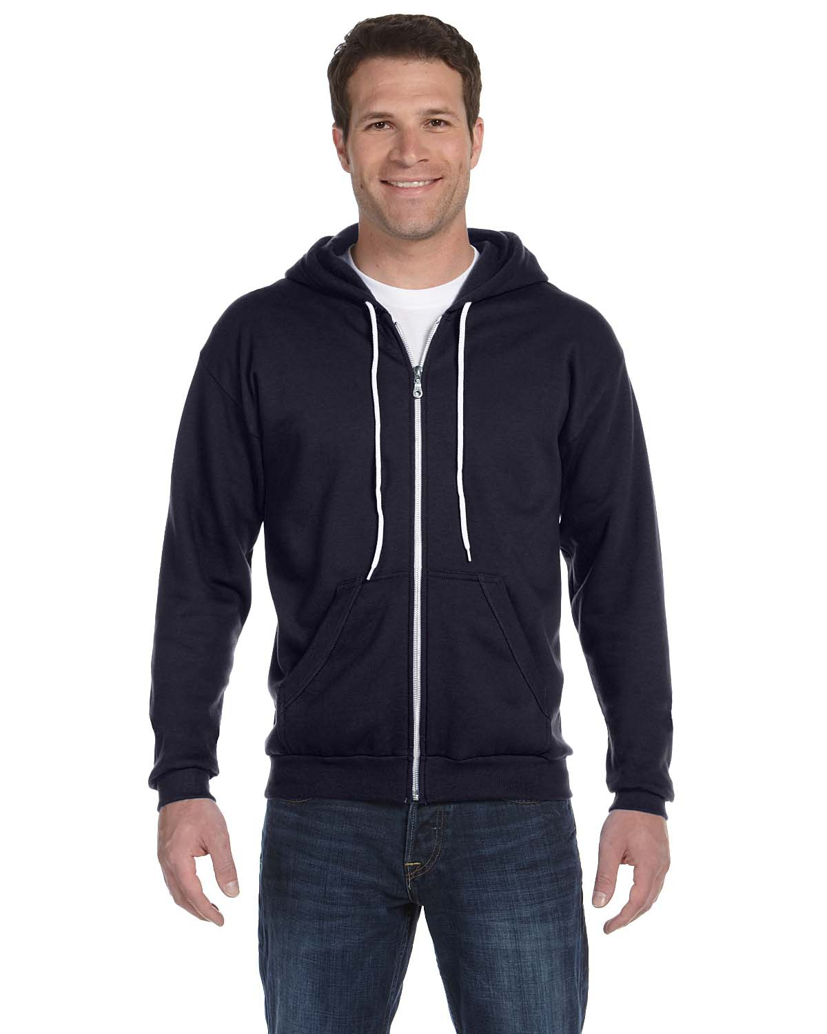 Anvil 71600 – Full-Zip Hooded Fleece 1