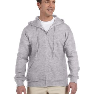 Gildan G126 - Adult DryBlend®  9.0 oz., 50/50 Full-Zip Hood