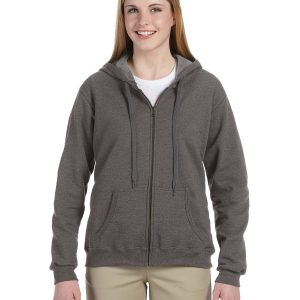 Gildan G187FL - Heavy Blend™ Ladies' 8 oz. Vintage Classic Full-Zip Hood