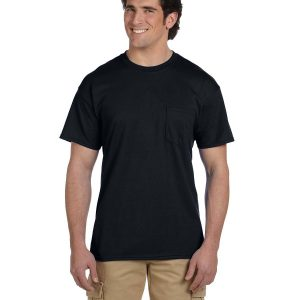 Gildan G830 - Adult DryBlend® 5.6 oz., 50/50 Pocket T-Shirt