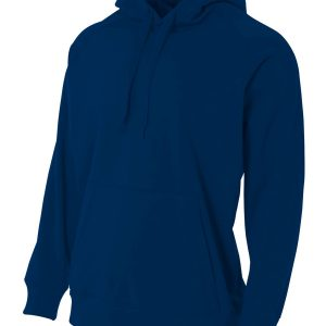 A4 Drop Ship NB4237 - Youth Solid Tech Fleece Hoodie