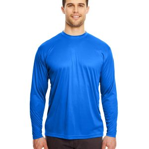 UltraClub 8422 - Adult Cool & Dry Sport Long-Sleeve Performance Interlock T-Shirt
