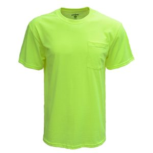 Bright Shield B116 - Adult Pocket Tee